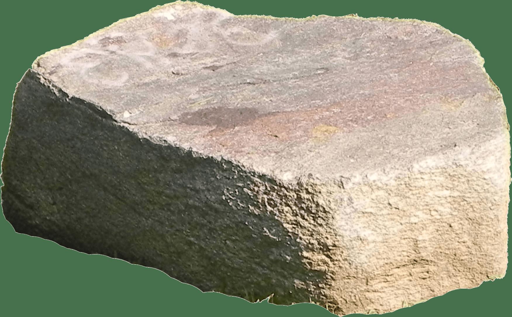 Piedra Grande bajo el sol PNG transparente.
