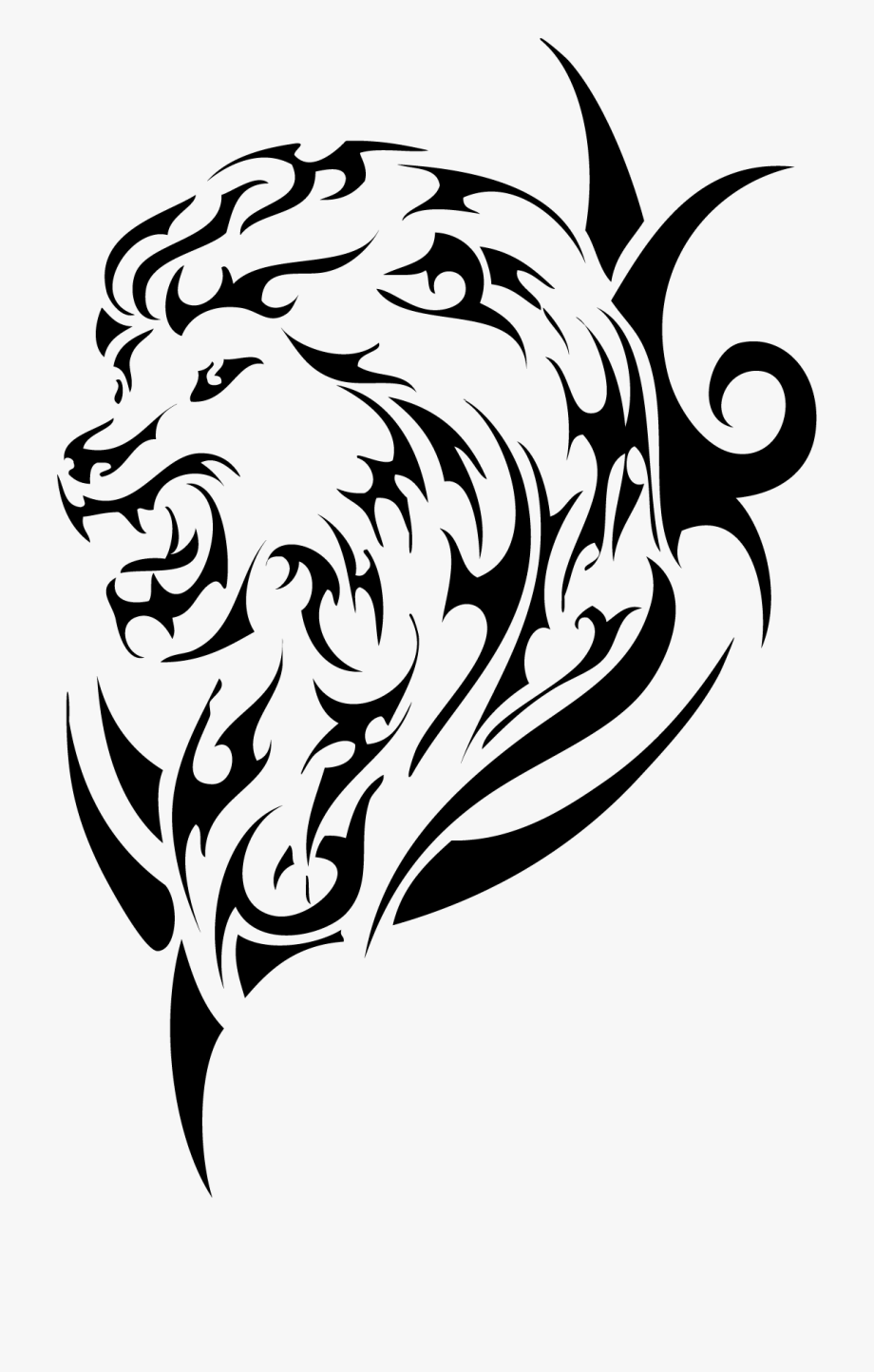 Tattoo Sleeve Artist Nz Lion Studio Ink Clipart.