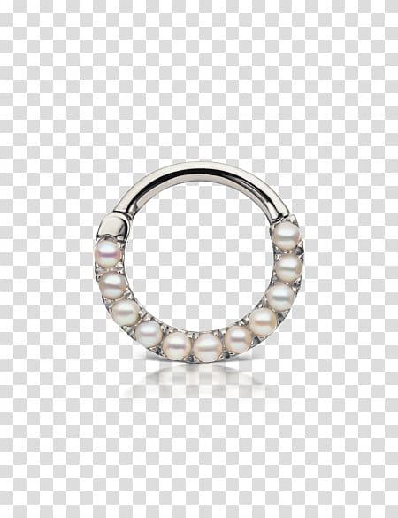 Earring Daith piercing Body piercing Septum piercing, Septum.