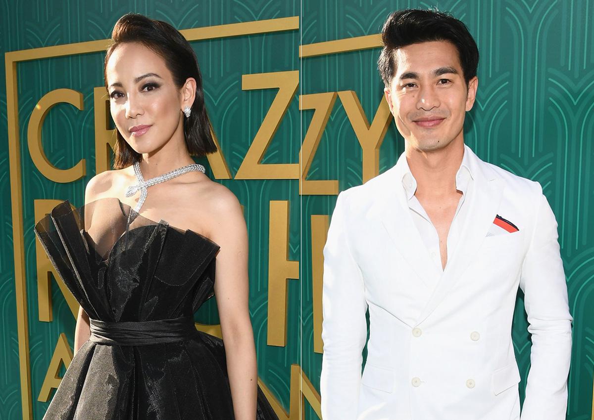 Singapore actors Fiona Xie, Pierre Png work the Crazy Rich.