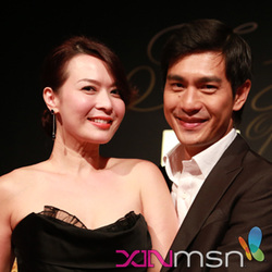 Pierre Png and Andrea De Cruz: 11 years on and still head.