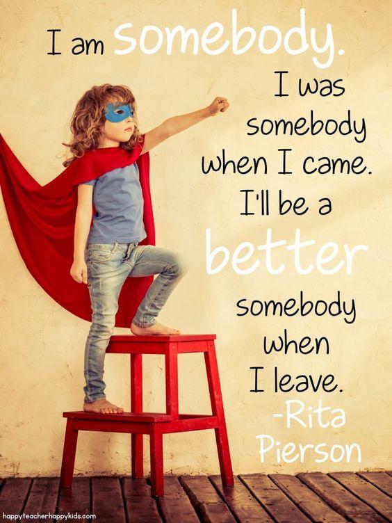 I am somebody clipart.