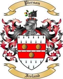 pierson family crest.