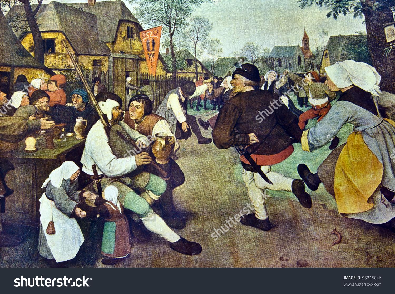 Pieter Bruegel Elder 15251569 Feast Day Stock Photo 93315046.