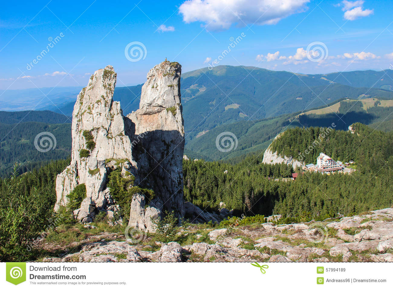 The Ladys Stones, Rarau Mountains.