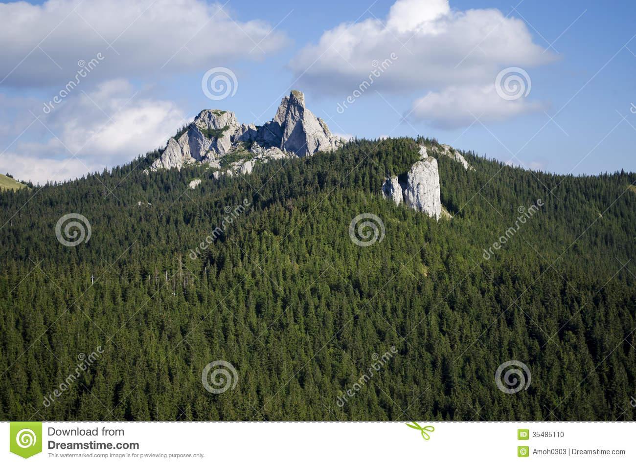The Ladys Stones, Rarau Mountains.