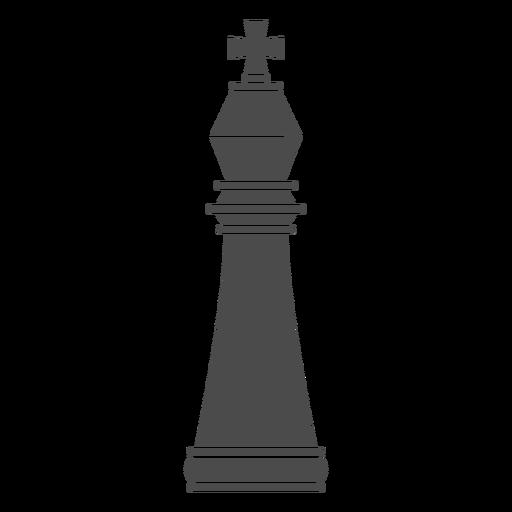 Pieza de ajedrez rey.