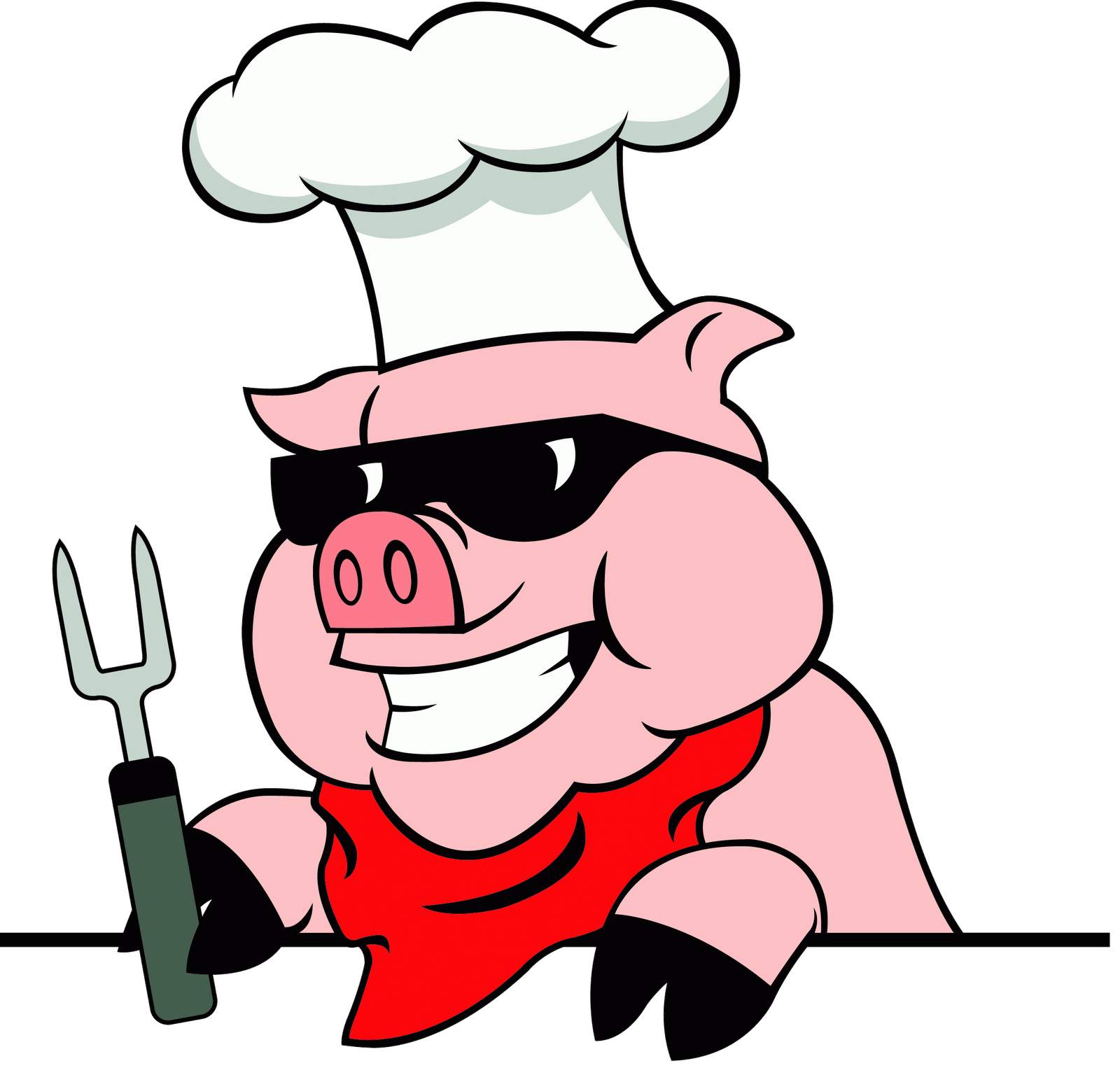Pig bbq clipart free clipart images 2.