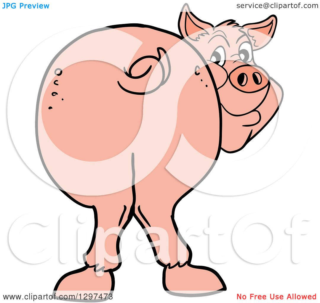 Pig butt clipart 5 » Clipart Station.