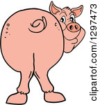 Pig butt clipart 2 » Clipart Station.