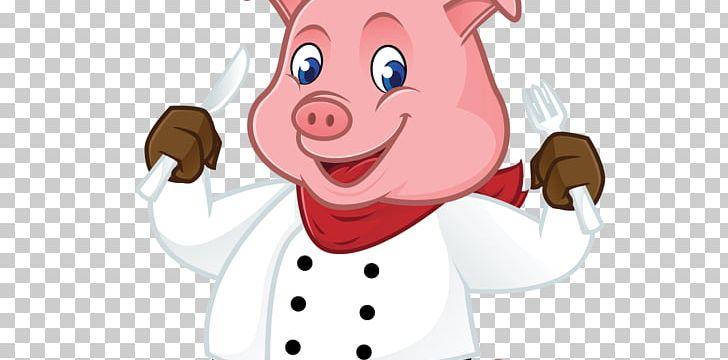 Cartoon Pig PNG, Clipart, Animals, Chef, Child, Cute Cartoon.