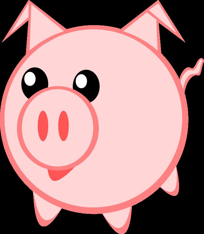 Pig Outline.