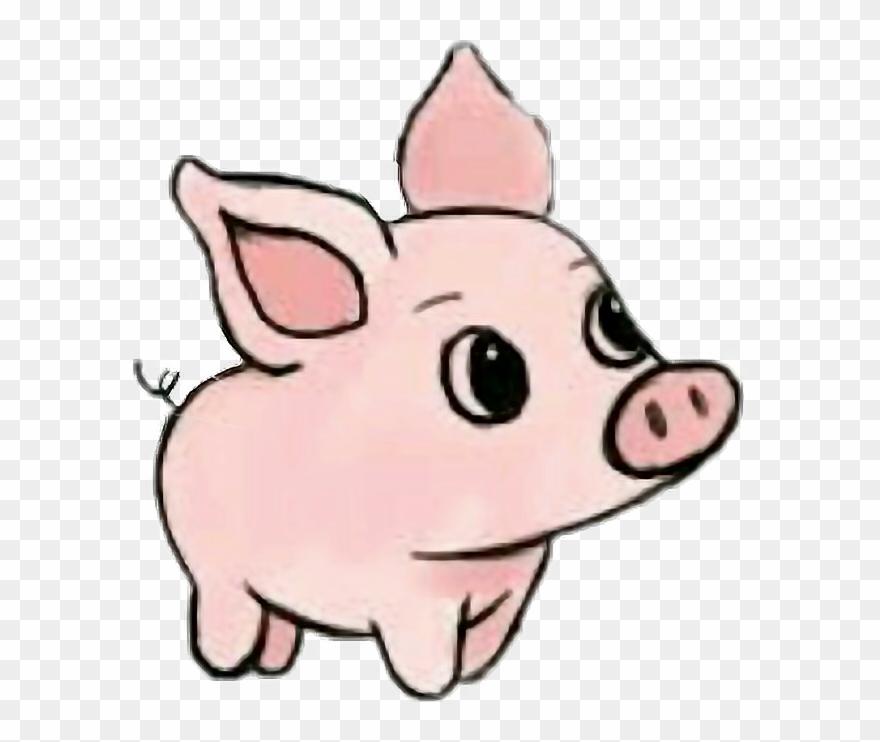Cute Pig Art Clipart (#498089).