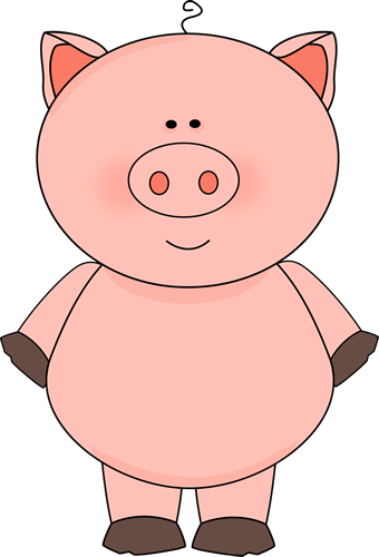 84+ Clip Art Pig.