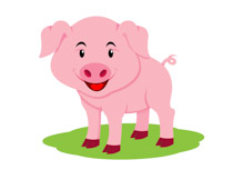 Free Pig Clipart.