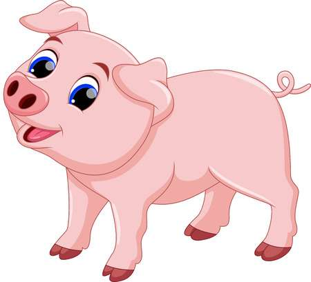Picture of pig clipart 2 » Clipart Station.