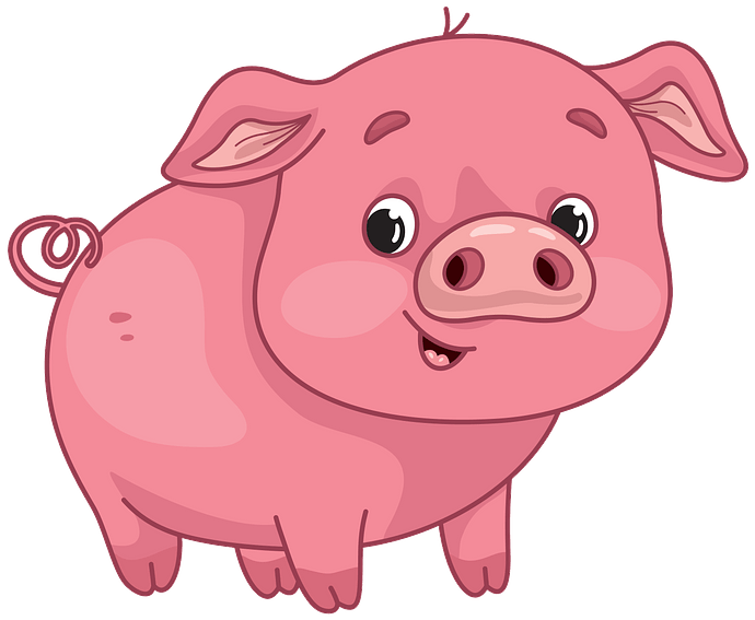 Pig clipart. Free download..