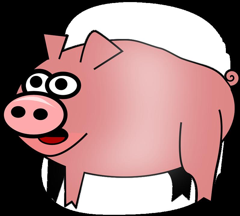 Free Vector Graphic Hog Pig Animal Barnyard Farm