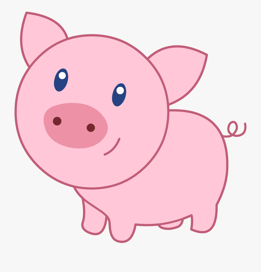 Baby Pig Clipart.
