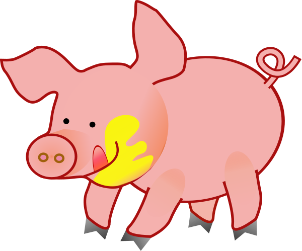 Free Pig In Mud Clipart, Download Free Clip Art, Free Clip.