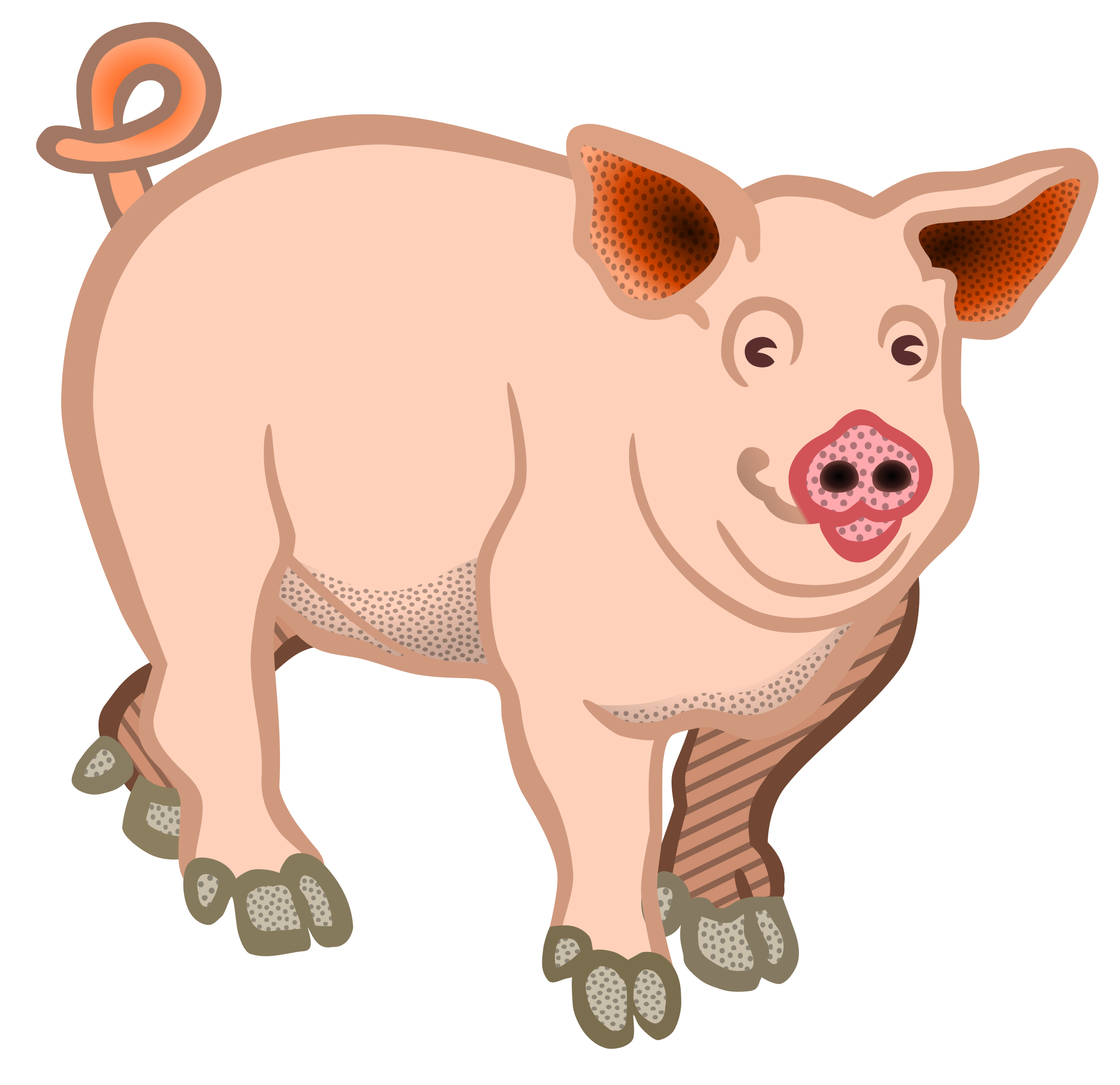 Pig Cliparts For Free Clipart Farm Animal And Use In Png.