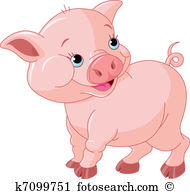 Pig Clipart Illustrations. 19,141 pig clip art vector EPS drawings.