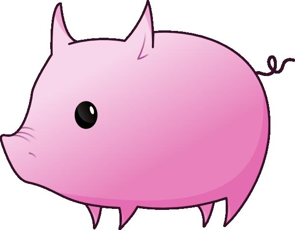 Pig clip art Free Vector / 4Vector.