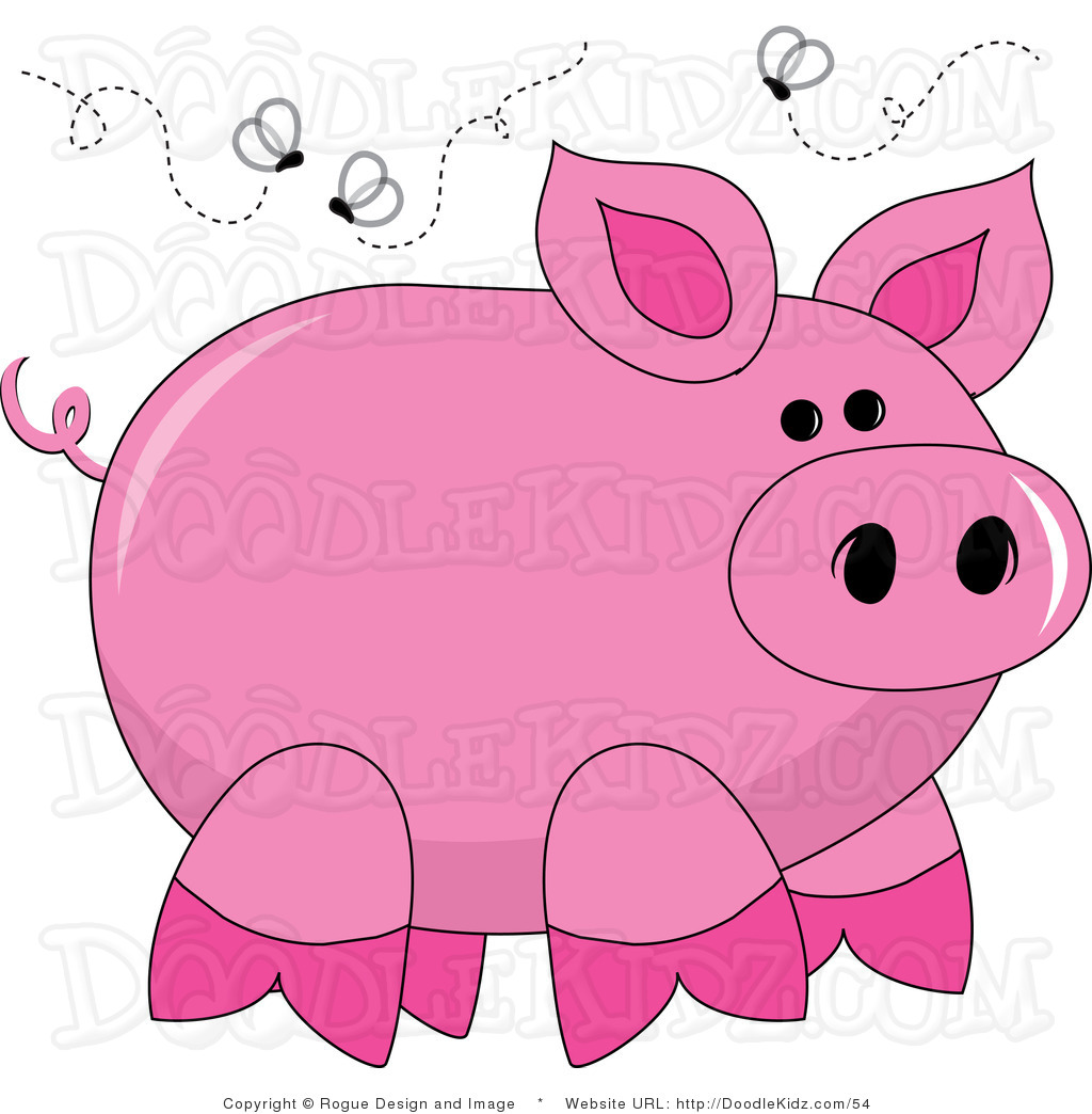 Free Pig Clip Art Illustrations.