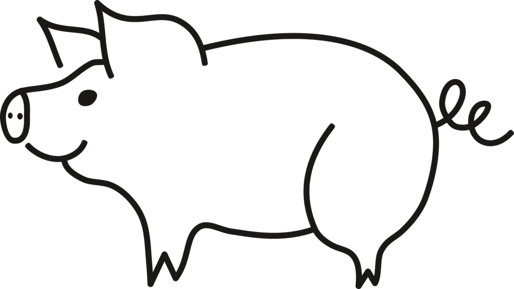 Drawings of pig clipart images gallery for free download.