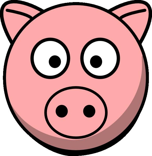 Best Pig Face Clip Art #19631.