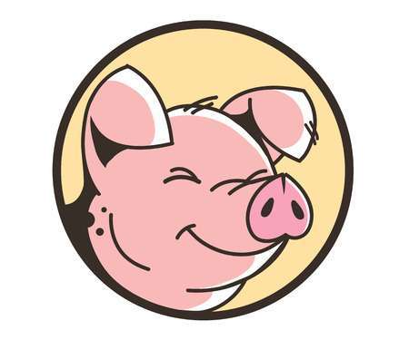 Pig face clipart 4 » Clipart Portal.
