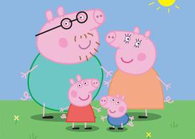 Peppa Pig Family, Vector.