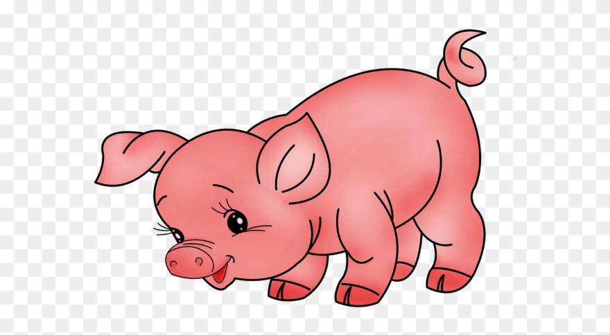 Pig Farm Animals Clipart.