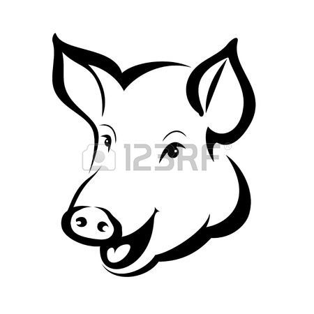 2,820 Pig Head Cliparts, Stock Vector And Royalty Free Pig Head.