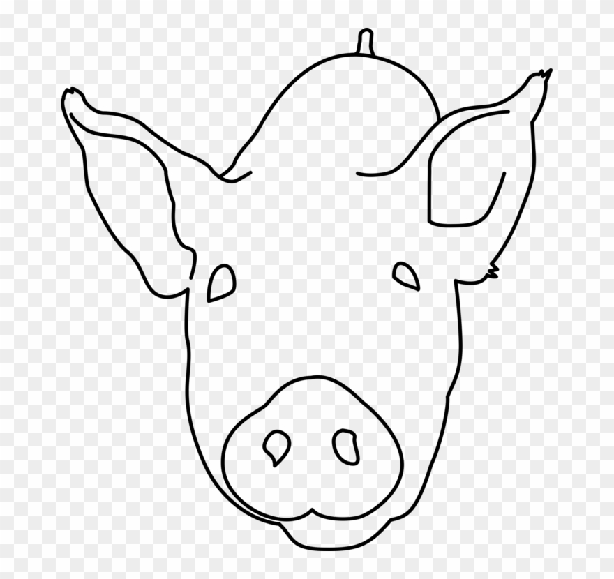 Pig Computer Icons Head Snout Drawing.