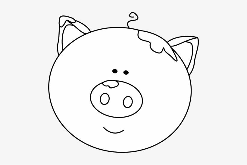 Pig Clipart Pig Head.