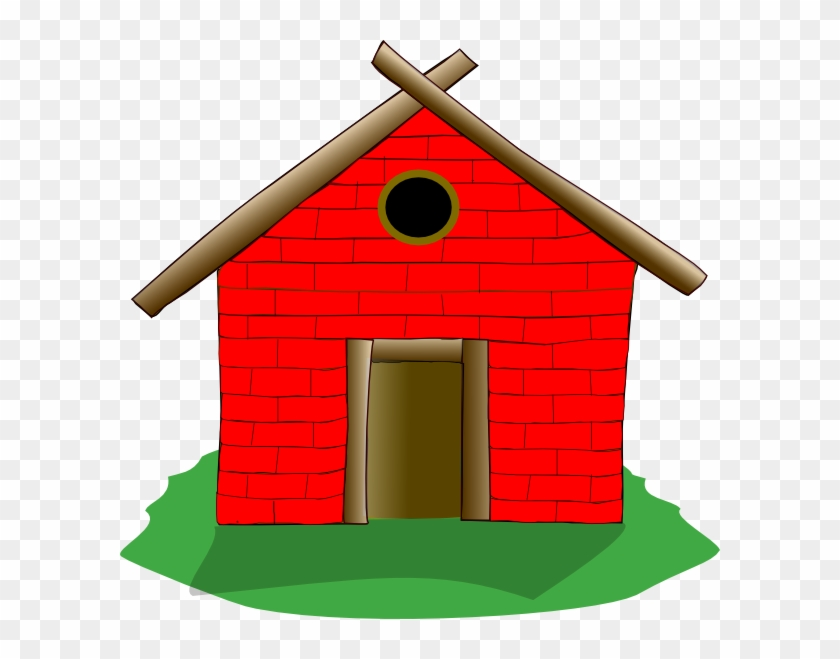 Brick House Clipart.