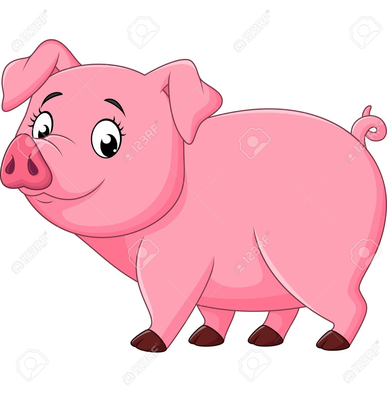 Happy pig clipart 4 » Clipart Portal.