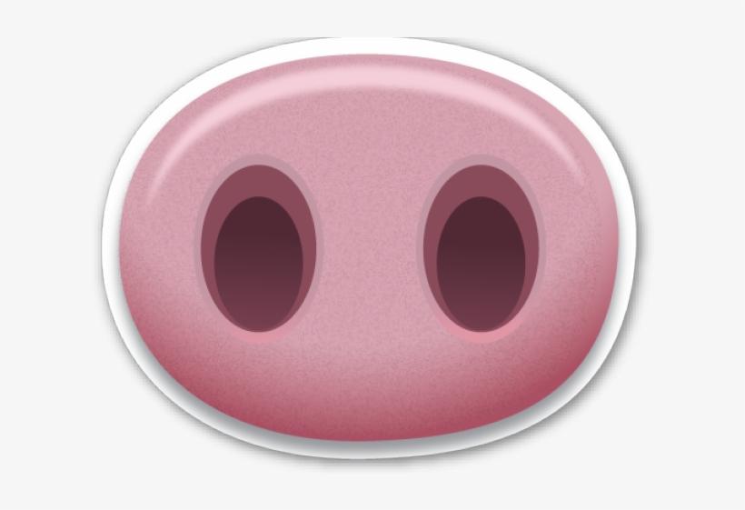 Emoji Clipart Pig.