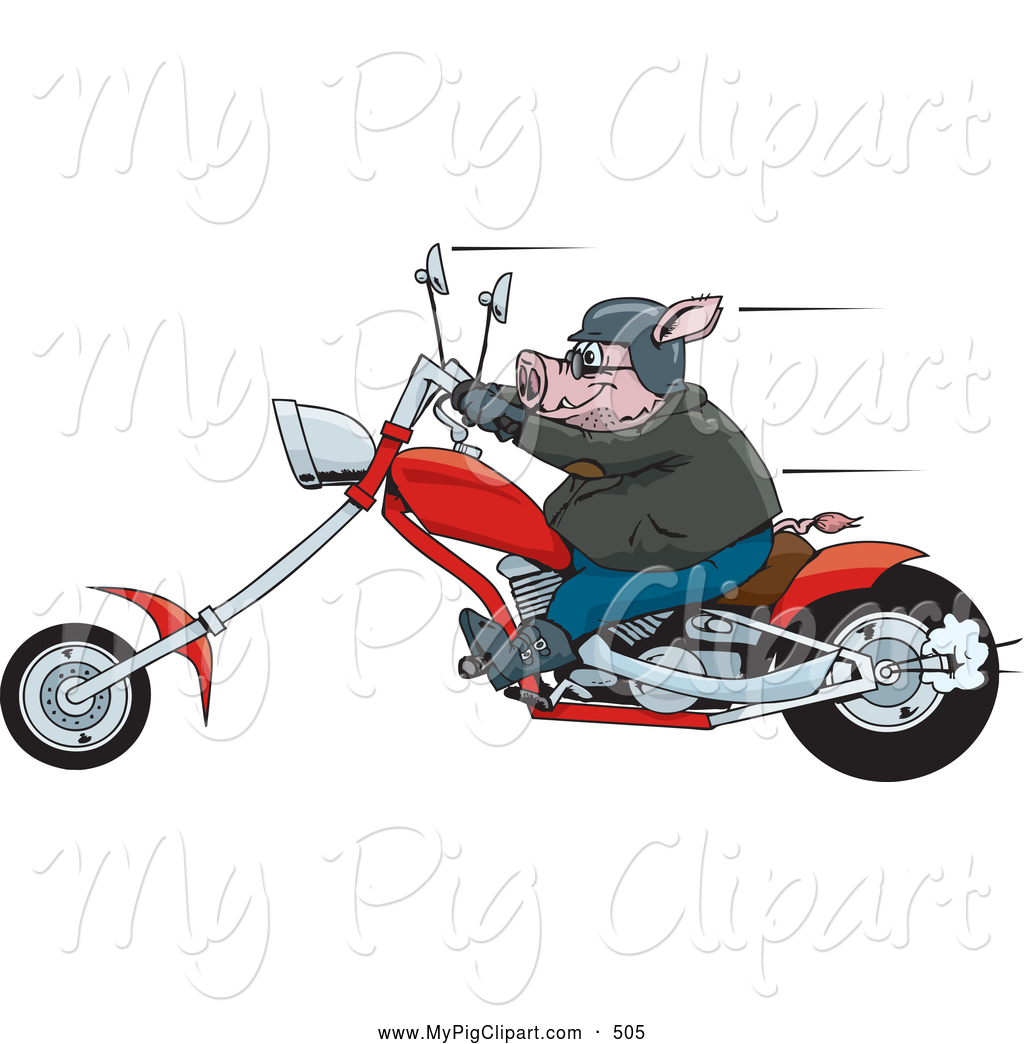 Hog clipart motorcycle clipart, Hog motorcycle Transparent.