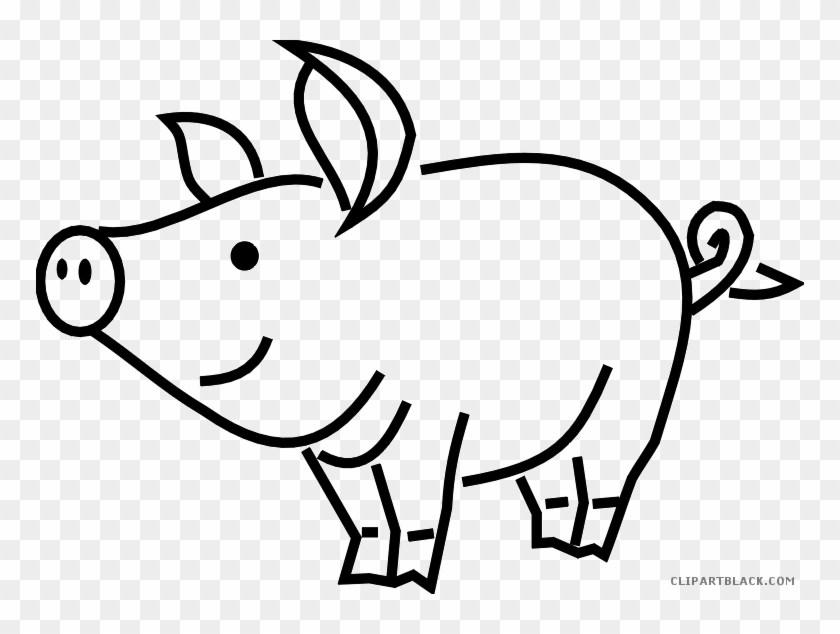 Pig outline clipart 3 » Clipart Portal.