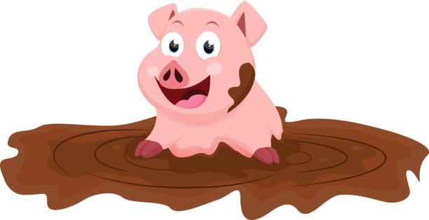 Pig Pen Clipart.