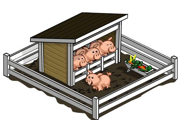 Pig pen clipart 5 » Clipart Portal.