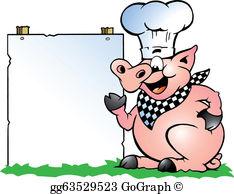 Pig Roast Clip Art.