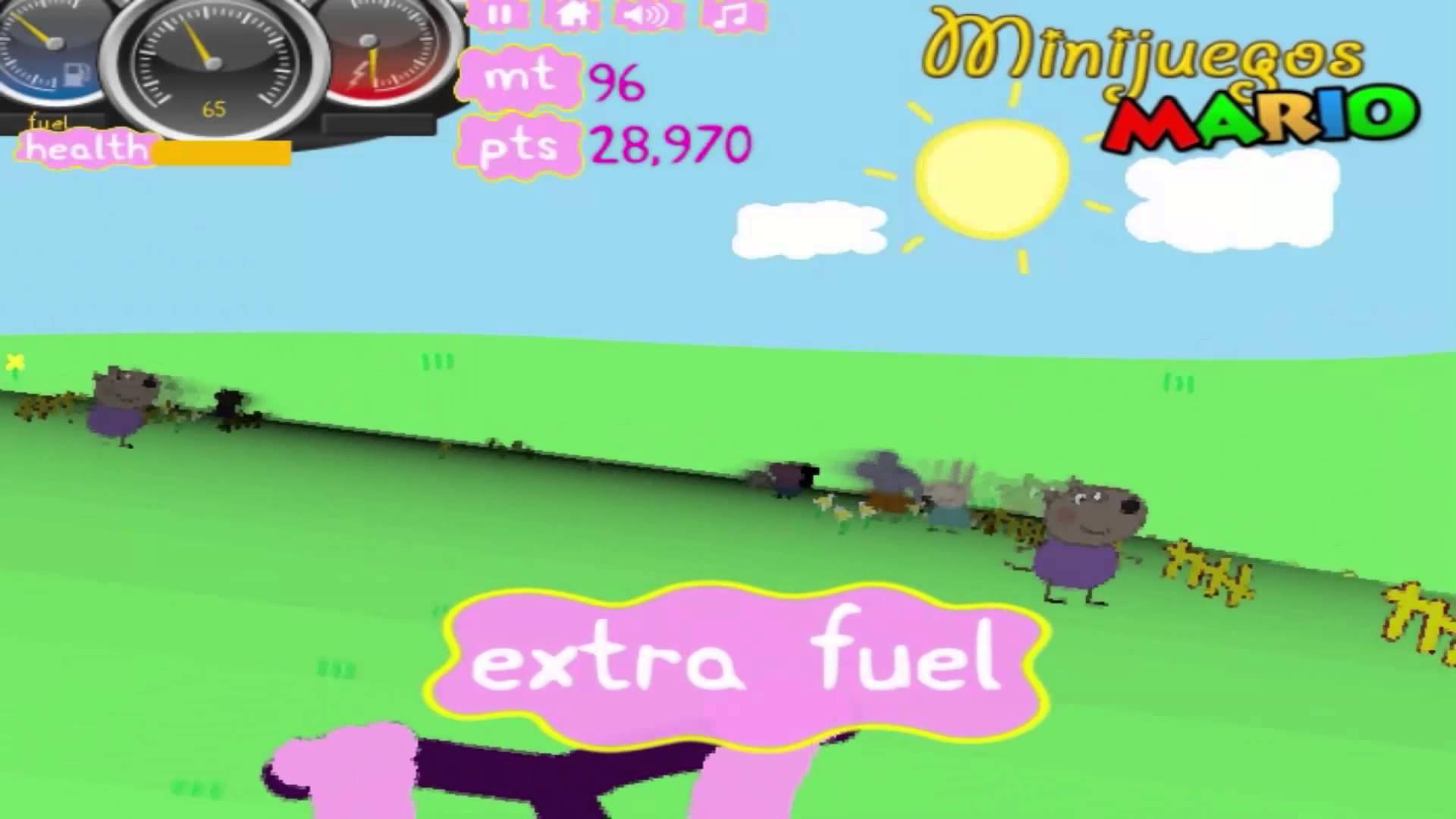 Peppa Pig Race game movie.