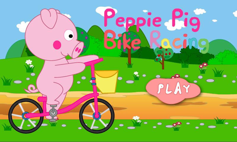 Peppie Pig Bike Racing Games.