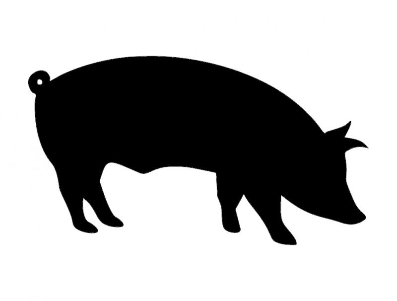 Pig Silhouette Png, png collections at sccpre.cat.