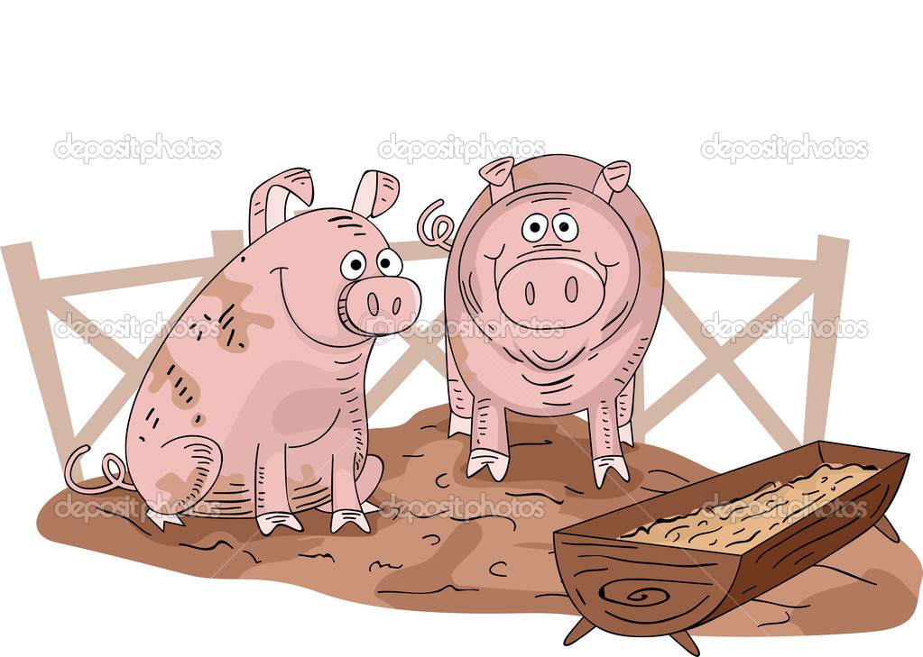 pig sty clipart clipground
