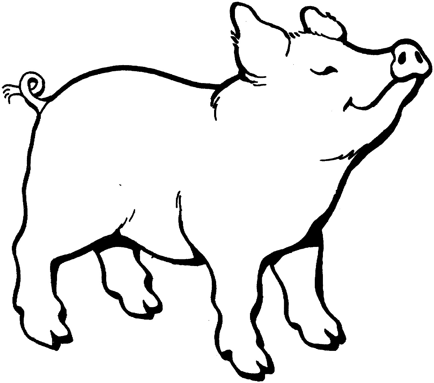 Pigs Cartoon Pictures Coloring Pages toy story color pages.