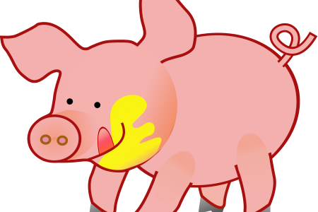 Flying Pig Outline ClipArt Best ClipArt Best, Do Pigs Fly Clip Art.